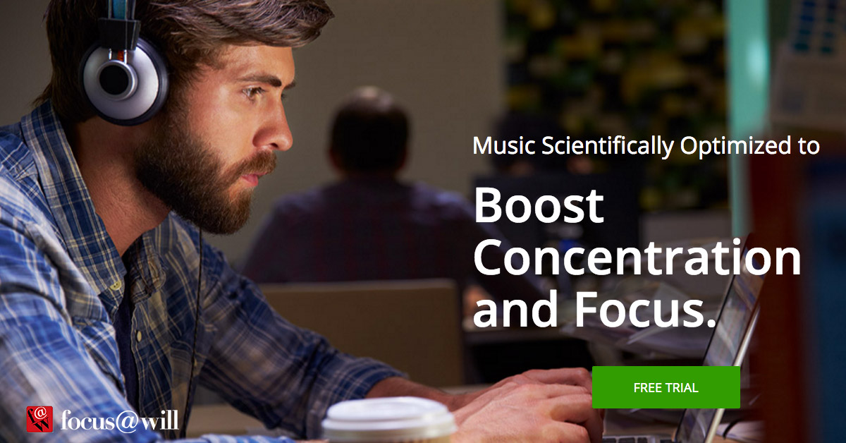 Music To Boost Concentration and Focus - Focus@Will Music for concentration