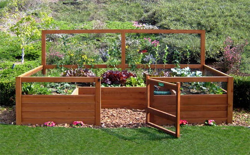 Small Vegetable Garden Box House Decor Ideas